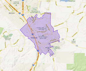 temecula personal injury attorney service area map