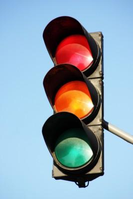 New Traffic Signal at Dangerous Intersection